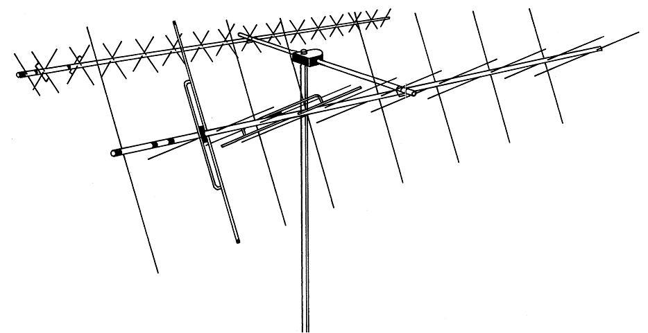 DB-218SAT HYGAIN DB218SAT VHF/UHF OSCAR LINK SYSTEM
