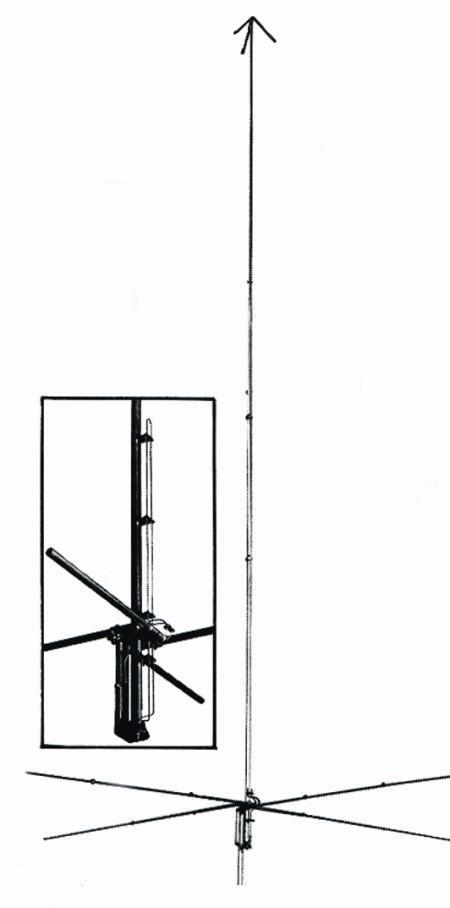 Cushcraft R6000 6,10,12,15,17,20m NO RADIAL HF VERTICAL ANTENNA