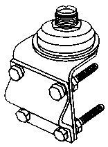 JTM-1 JETSTREAM JTM1 MIRROR TYPE SO239 MOUNT 17FT COAX