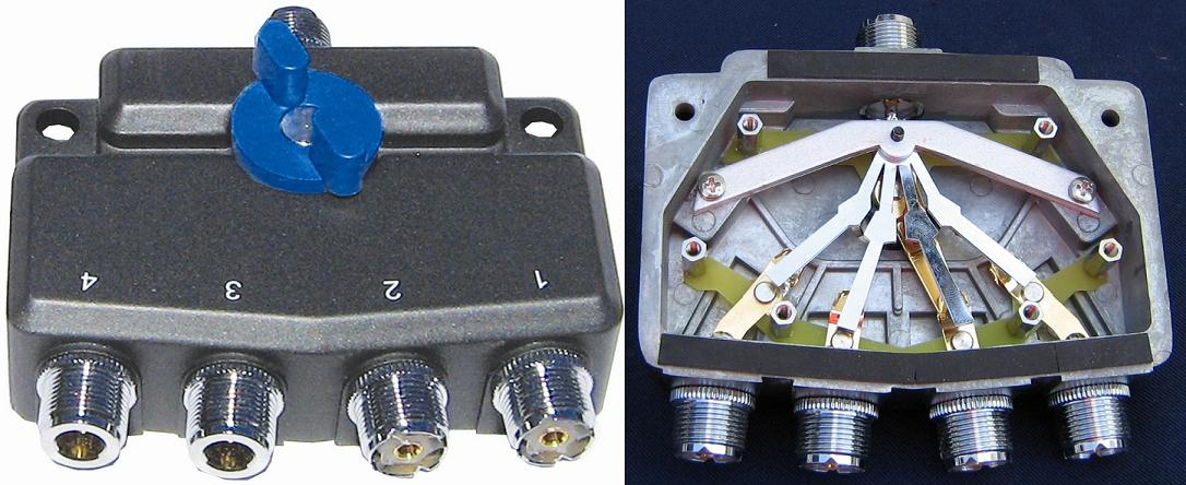 Alpha Delta Antenna Switch Repair and Cleaning