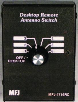 Find mfj mfj4716 position desk remote antenna switch 1 8