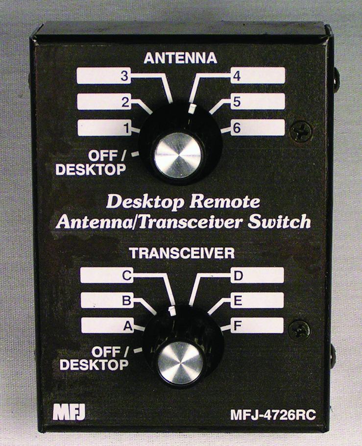 1.8-150MHz MFJ-4712 Remote antenna switch,2-pos