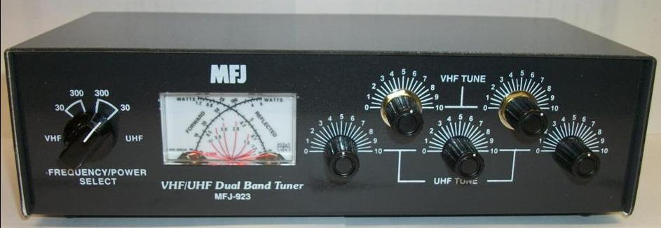 Mfj 923 Mfj Mfj923 144 440mhz Antenna Tuner Wattmeter 200w