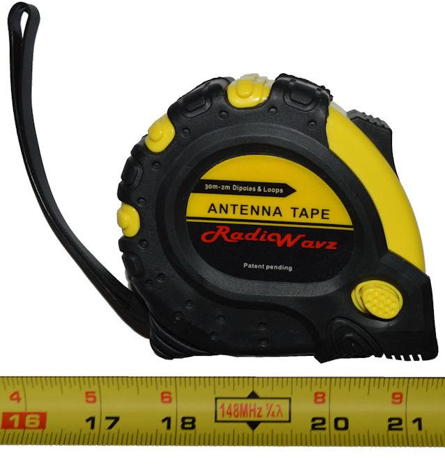 Radio Wavz ANTENNATAPE TAPE MEASURE FOR BUILDING ANTENNAS