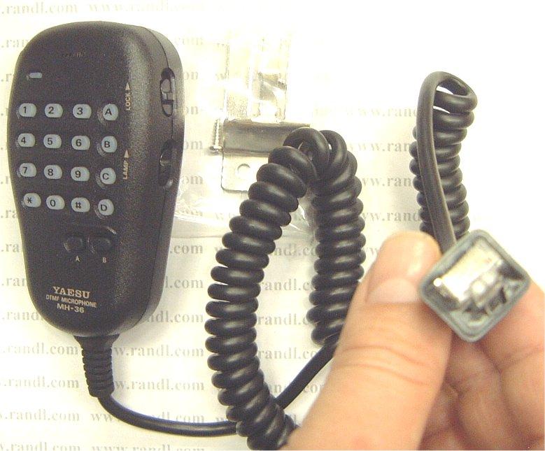 Yaesu MH36E8J DTMF HAND MICROPHONE FT-817/897/857 on
